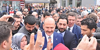 İçişleri Bakanı Süleyman Soylu Silivri programı