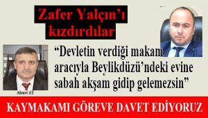 """""""İlçe Milli eğitim müdürü usulsüzlük yapıyor"""""""
