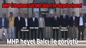 MHP heyeti Rumeli Üniversitesi'ndeydi