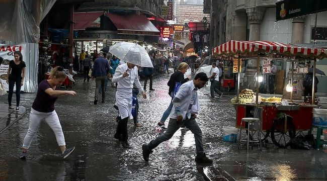 Meteoroloji uyardı! Şiddetli yağış geliyor