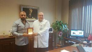 Silivri Devlet Hastanesi'ne Bayburtlu desteği