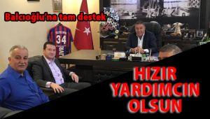 Nuray Koçer'den Balcıoğlu'na tam destek