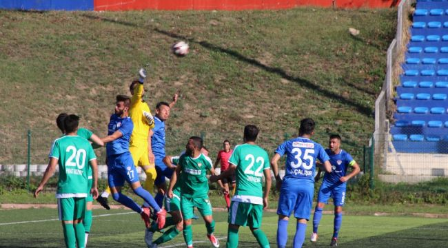 Silivrispor Erzin'den 3 gol yedi