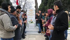 AK Partili gençler Mehmet Akif'i unutmadı