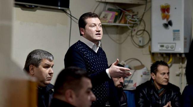 Balcıoğlu Büyükçavuşlu'da proje anlattı