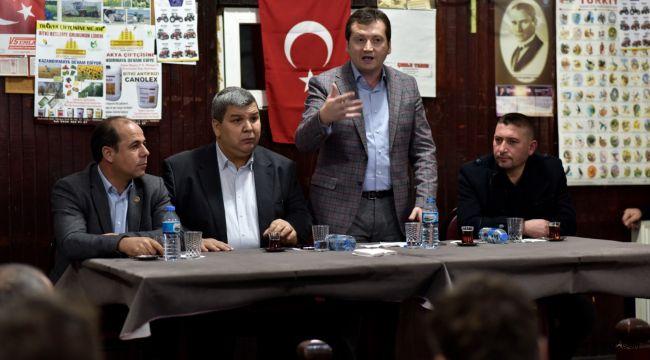 Balcıoğlu'na Değirmenköy'de büyük ilgi