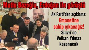 Bozoğlu, Erdoğan'a söz verdi, 'Kazanacağız'