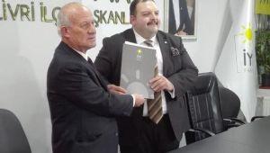 Erdinç Tabak İyi Parti'den aday adayı oldu