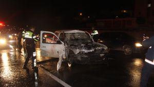 Gümüşyaka'da feci kaza