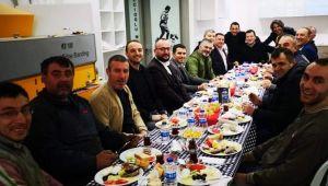 Sanayi esnaflarından Balcıoğlu'na destek