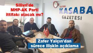 Silivri'de MHP-AK Parti ittifakı olacak mı?