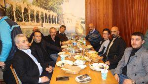 Murat Çakır Erzurumlu dostlarıyla buluştu
