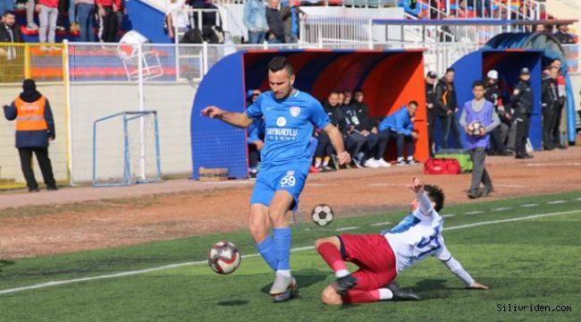Silivrispor ikinci yarıya yenilgiyle başladı