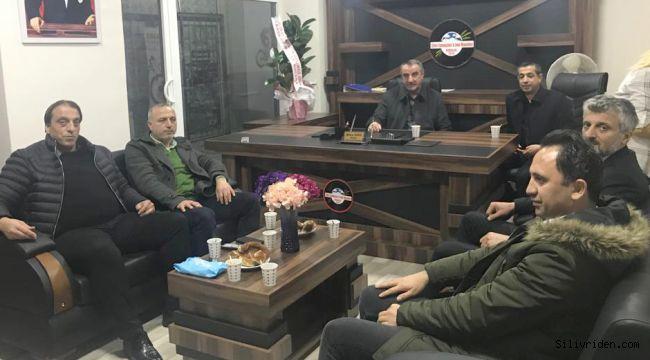 Azder'den Ekmekçiler Derneği'ne ziyaret