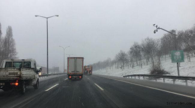 Kar yağışı yoğunlaştı