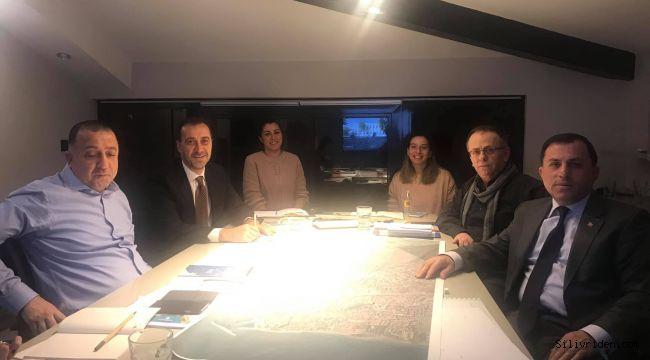 Turan ve Yılmaz proje toplantısında