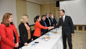 Volkan Yılmaz, meclis üyesi adaylarıyla toplantı yaptı