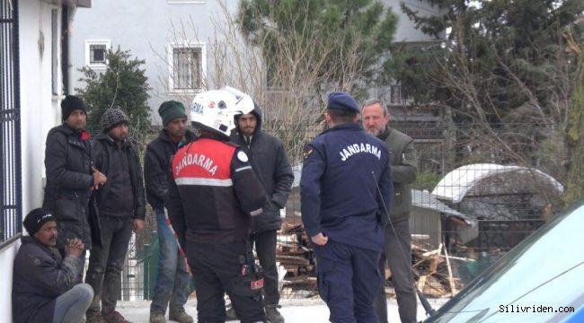 Edirne'ye giden taksiye Silivri'de operasyon