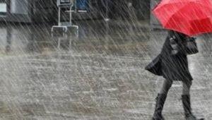 Meteoroloji yağış uyarısı yaptı