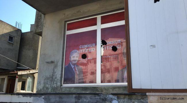 Seçim İrtibat Bürosu'na saldırıda 4 gözaltı