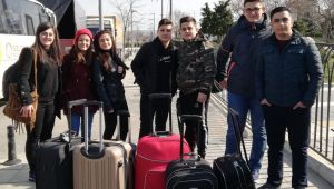 Tarım Lisesi öğrencileri İtalya yolcusu
