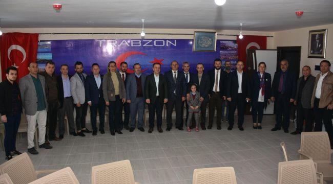 Trabzonlular Derneği'ne Hayırlı Olsun Ziyareti