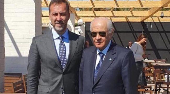 Başkan Yılmaz, Devlet Bahçeli ile görüştü