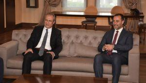 Kaymakam Partal'dan Başkan Yılmaz'a hayırlı olsun ziyareti