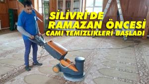 Silivri Belediyesi, ilçedeki tüm camilerde temizlik yapıyor