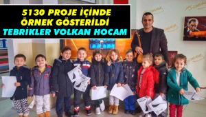 Tebrikler Volkan hocam!