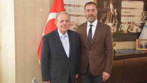 Yusuf Sarıbekir Başkan Yılmaz'ı ziyaret etti