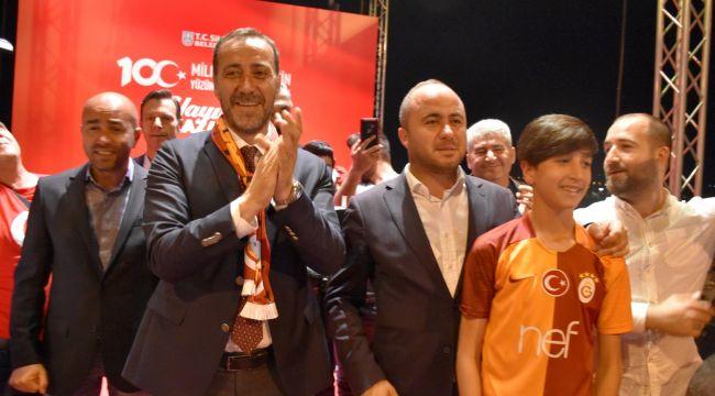 Başkan Yılmaz Cimbom'un Şampiyonluğunu Kutladı