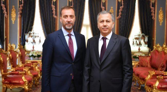 Başkan Yılmaz'dan Vali Yerlikaya'ya Ziyaret