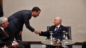 Başkan Yılmaz, Genel Başkan Devlet Bahçeli Ile Görüştü