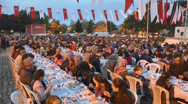Değirmenköylüler Gönül Sofrası'nda Iftar yaptı