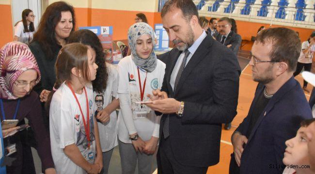 Ertuğrul Gazi Ortaokulu Kütüphanesi Açıldı