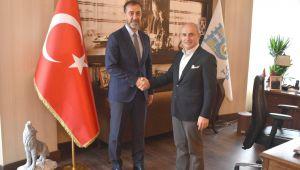 Hasan Akgün'den Başkan Yılmaz'a Ziyaret