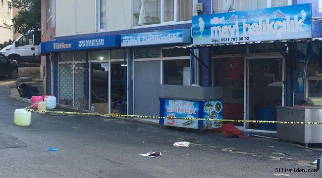 Silivri'de silahlı saldırı: 1 yaralı