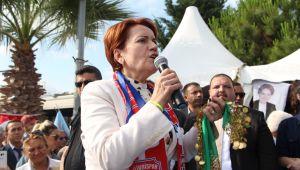 Meral Akşener Silivri'de destek istedi