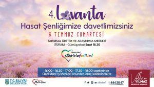 Silivri'de Lavanta Hasat Şenliği düzenlenecek