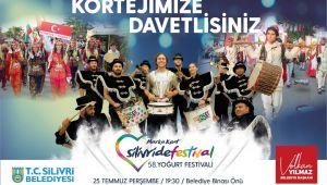 58. Silivri Yoğurt Festivali başlıyor