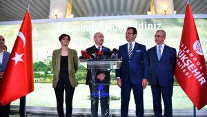 Kılıçdaroğlu: İstanbul'un rantına değil, sorunlarına talip oldu