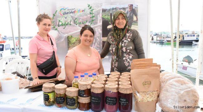Yoğurt Festivali'ne özel doğal pazar kuruldu
