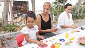 Ezgi Yılmaz, Anne ve Çocuk Atölye Çalışmasına katıldı