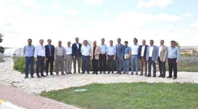 İl müdürü Karaca'dan Silivri'ye destek sözü