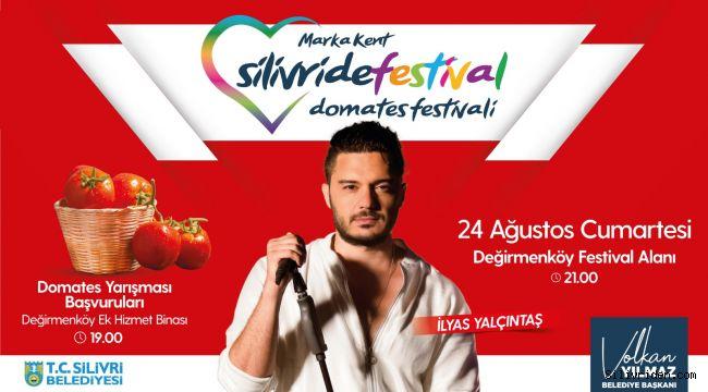 Silivri'de Domates Festivali heyecanı