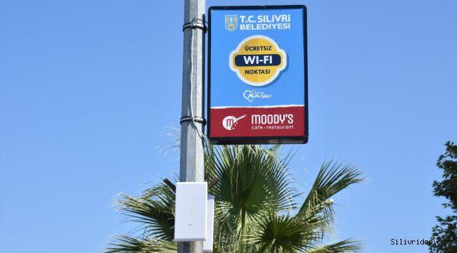 Silivri Sahili'nde ücretsiz internet