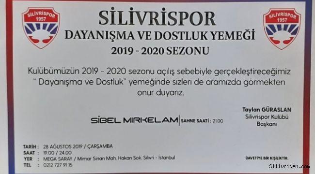 Silivrispor'a katkı sağlayacak organizasyon
