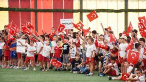 Yaz Spor Okullarına renkli kapanış