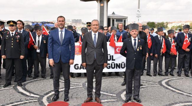 Silivri'de Gaziler Günü kutlandı
